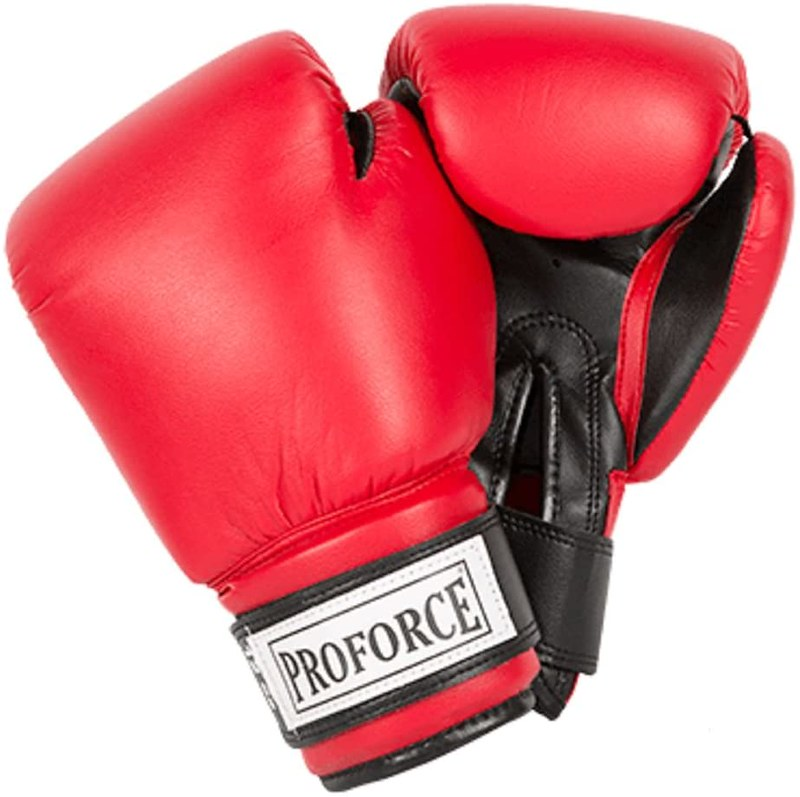 Proforce Leatherette Boxing Gloves.