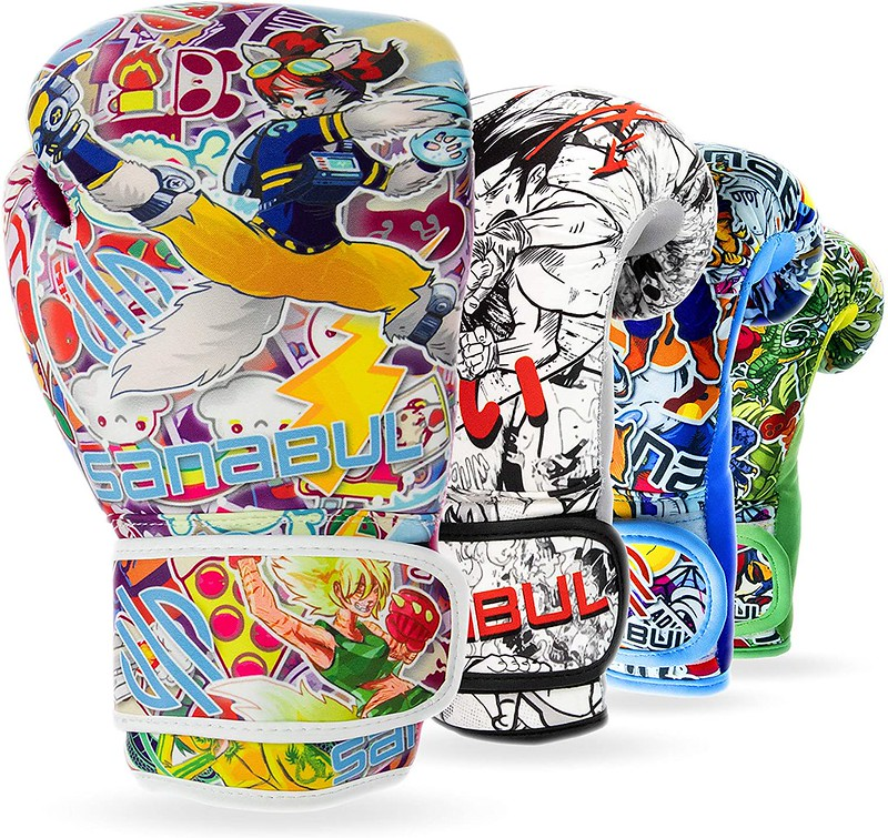 Sanabul Sticker Bomb Kids Boxing Gloves.