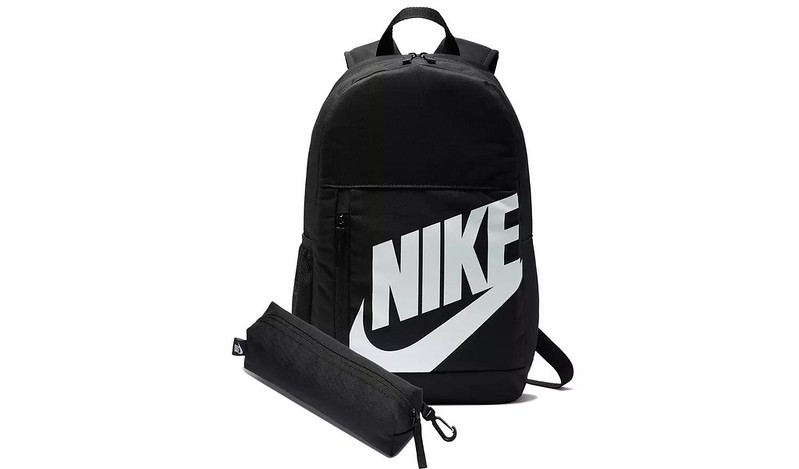 Nike Elemental 20L Backpack and Pencil Case.
