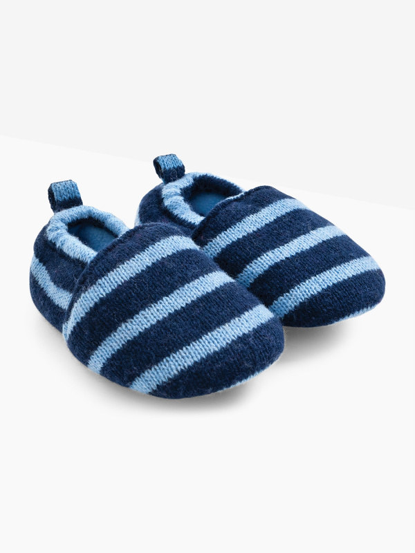 Cosy Knitted Slippers.