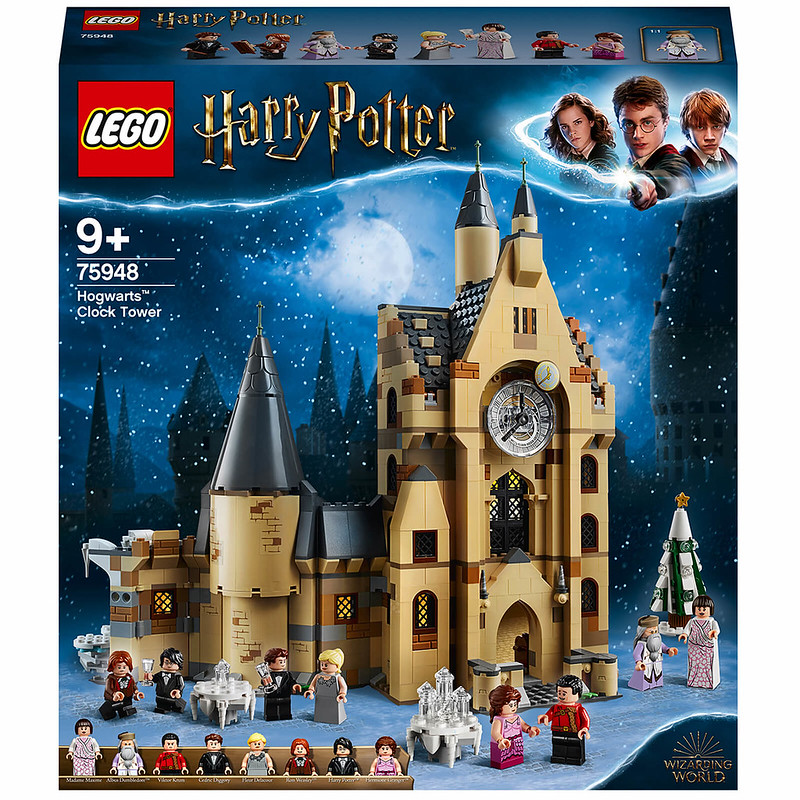 Harry Potter Hogwarts Castle Clock Tower Toy.