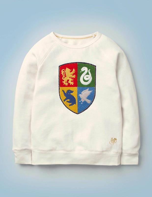 Hogwarts Crest Sweatshirt.