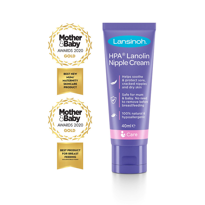 Lansinoh Nipple Cream.