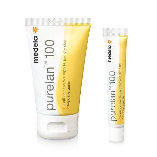 Medela Purelan 100 Lanolin Nipple Cream.