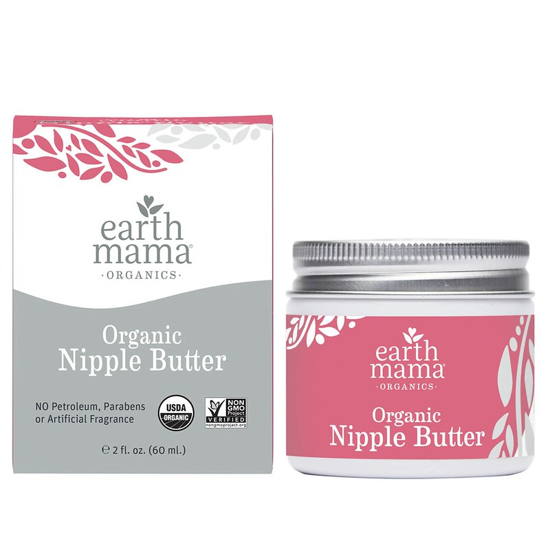 Earth Mama Angel Baby Organic Nipple Butter.