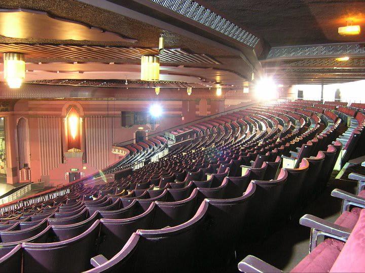 The auditorium of the Event Apollo.