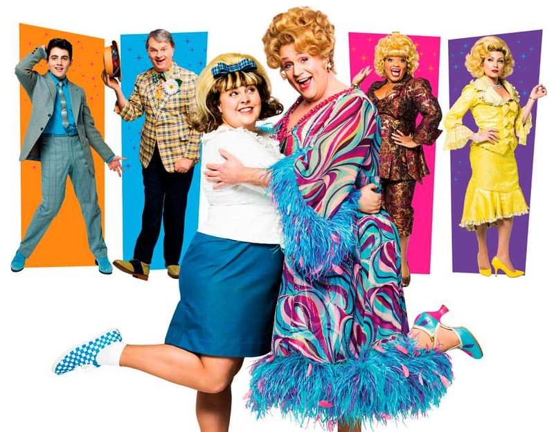 Hairspray the musical poster.