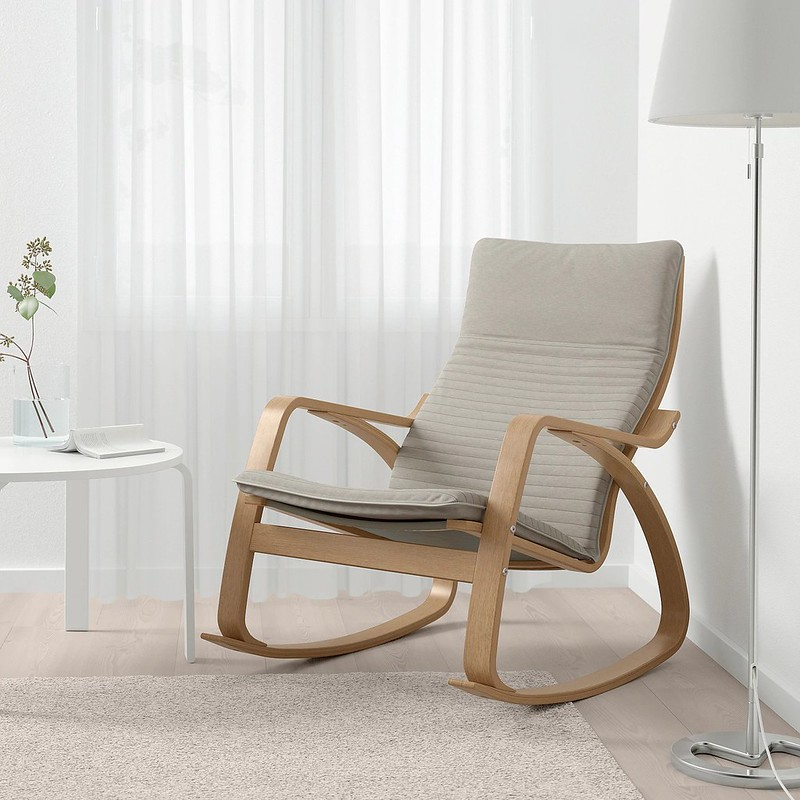 IKEA Poang Rocking Chair.