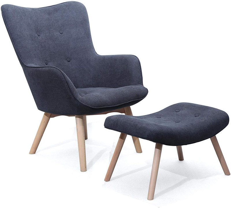 Ducon Wingback Chair.