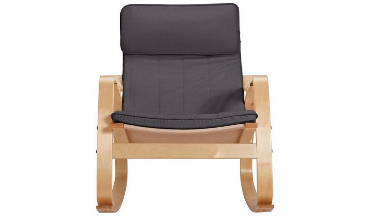 Argos Rocking Chair - Charcoal.