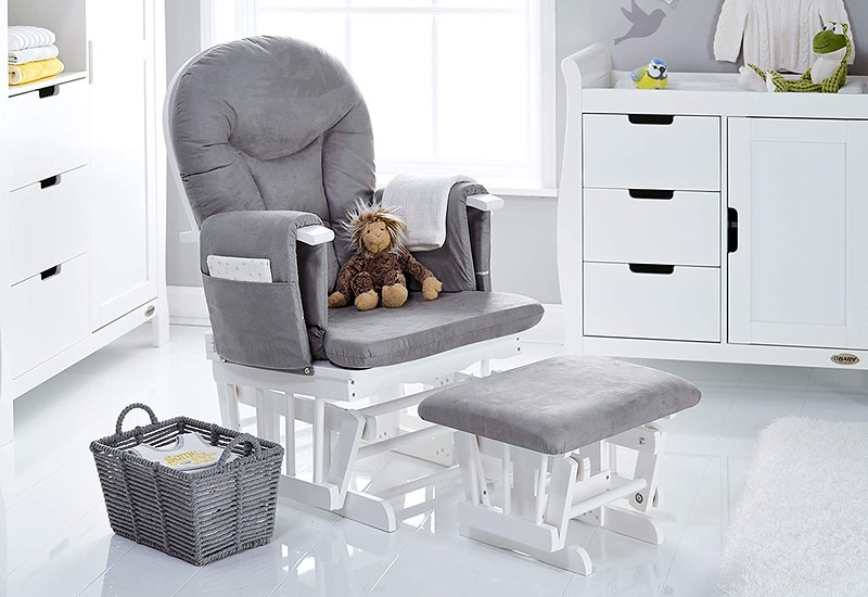 Obaby 7 Position Reclining Glider Chair.