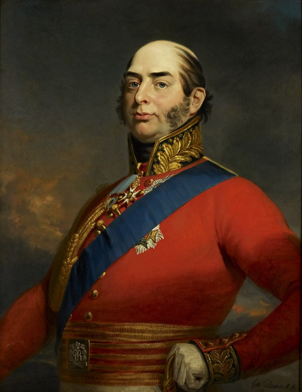 Painting of Queen Victoria's father, Prince Edward Augustus.