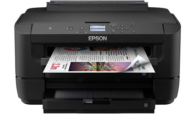 Epson Workforce WF-7210 Wireless Printer.