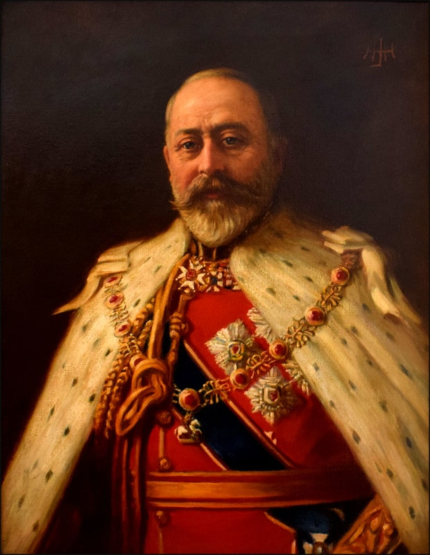 Painting of Prince Albert Edward, Prince of Wales.