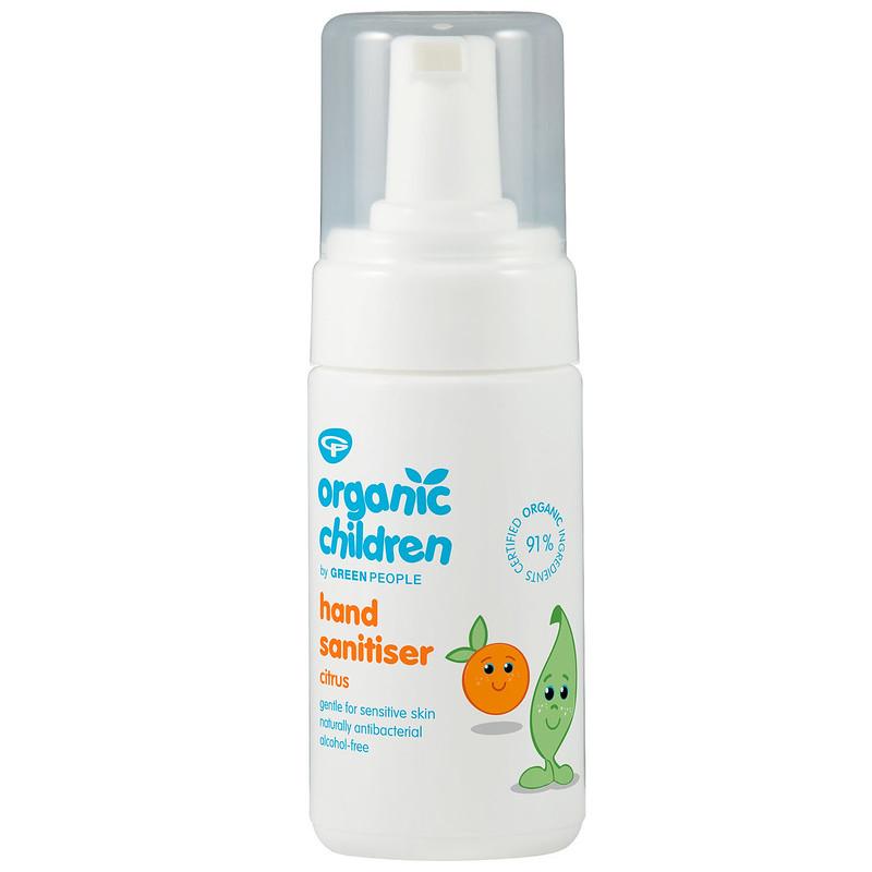 Green People Organic Children Sticky Hand Sanitiser.