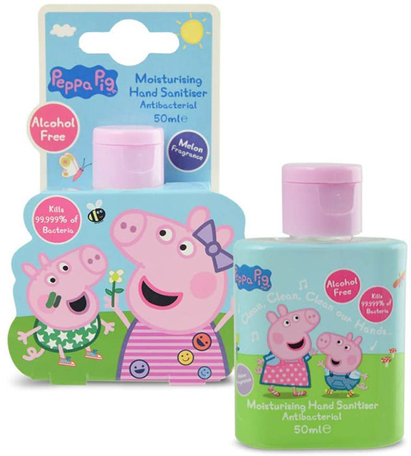 Peppa Pig Hand Sanitiser Gel.