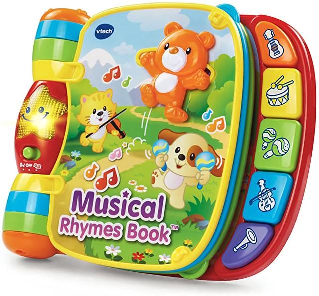Baby Musical Rhymes Book.