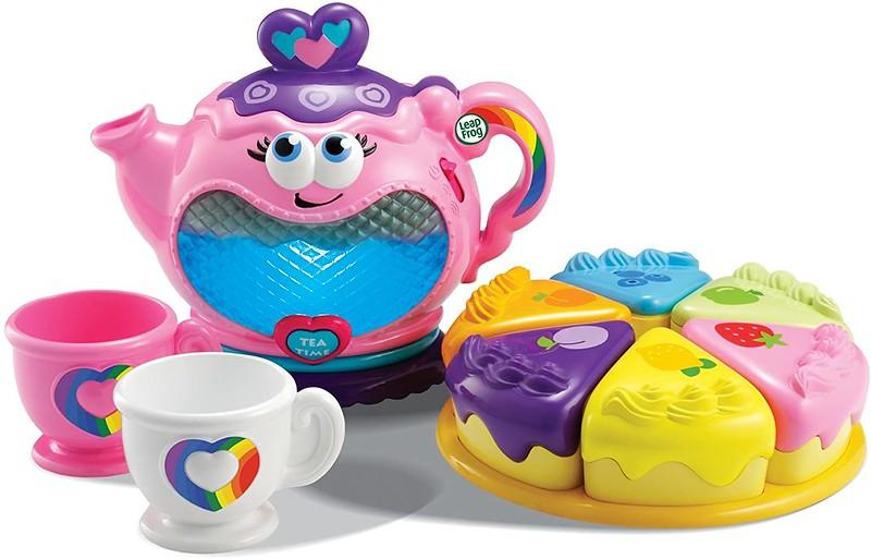 Musical Rainbow Tea Party.
