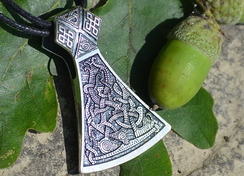 Mammen axe, one of the most precious Viking artefacts.