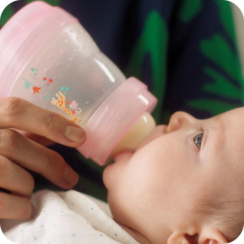 MAM Easy Start Anti-Colic Self-Sterilising Bottle.