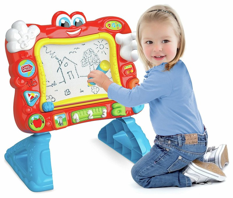 Chad Valley PlaySmart Interactive Magnetic Easel.