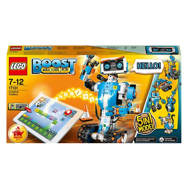 LEGO Boost Creative Toolbox Robot Coding Kit.