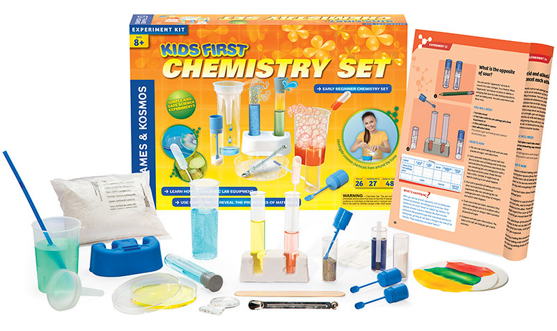 Thames And Kosmos Chemistry Kit.