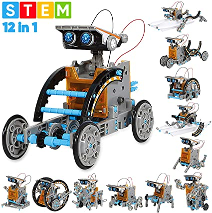 Sillbird Stem Education Solar Robot Kit.