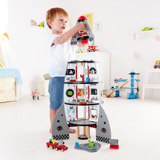 Hape Four Stage Rocket Ship.