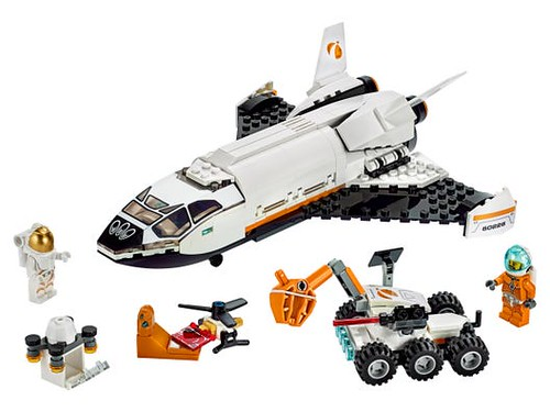 LEGO Mars Research Shuttle.