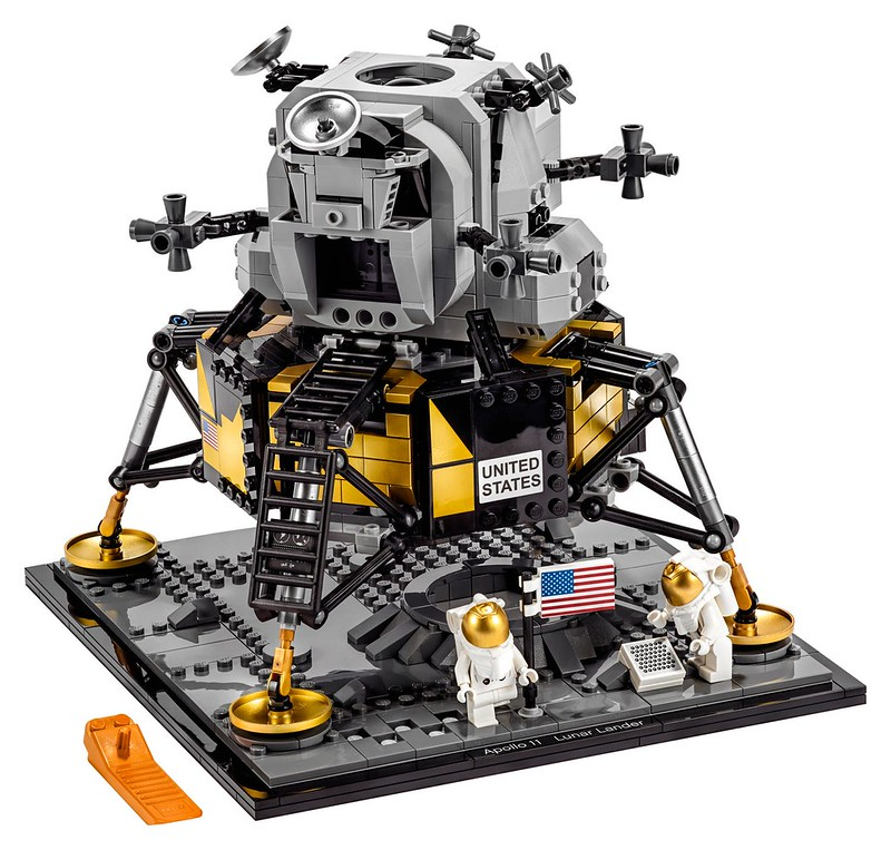 LEGO NASA Apollo 11 Lunar Lander.