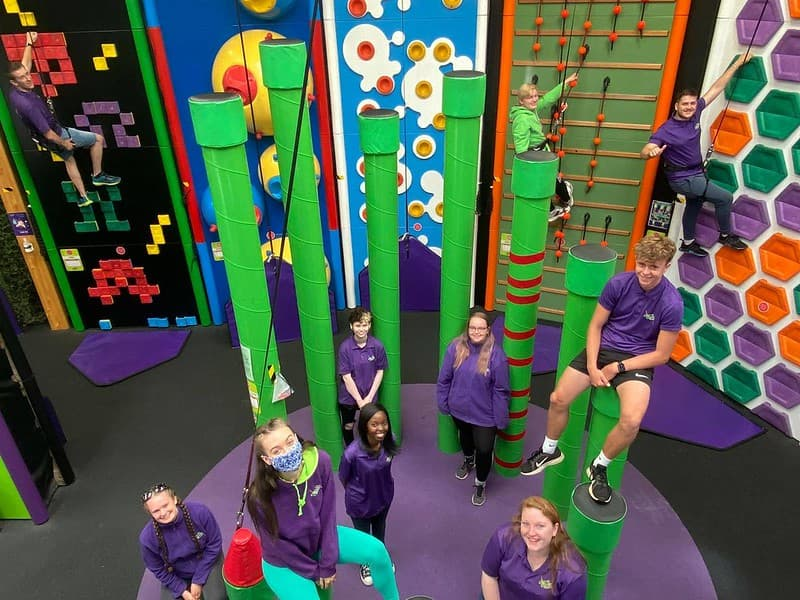 The team at Clip n Climb Cambridge.