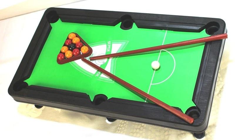 A to Z Kids Mini Pool Table Game.