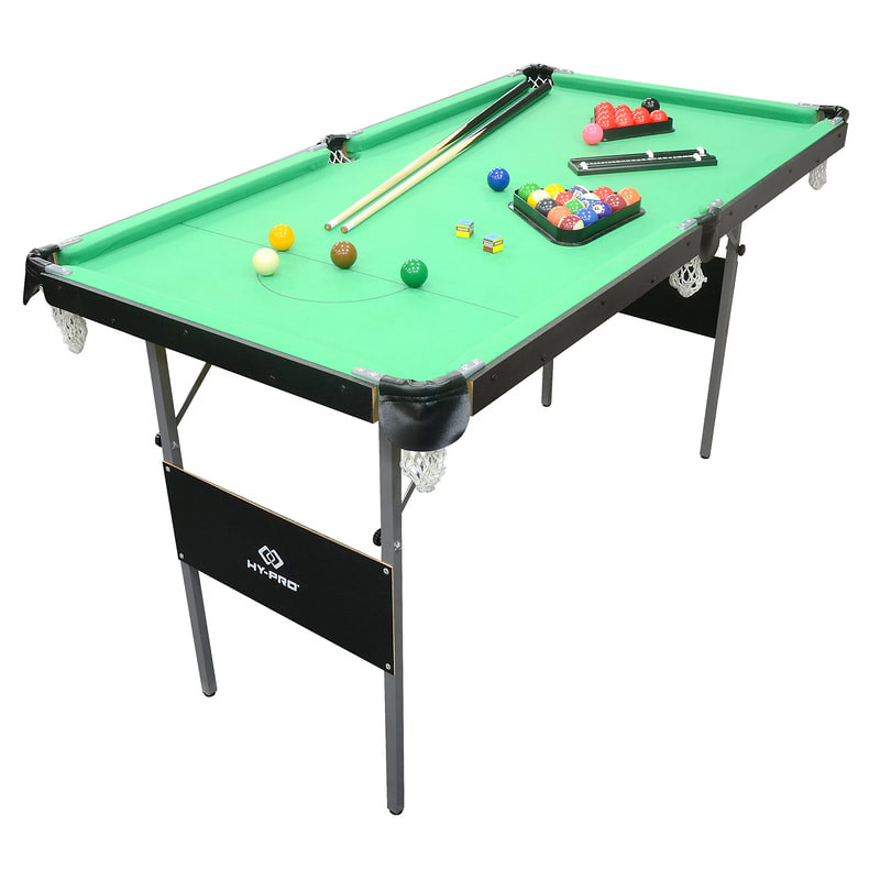Hy-Pro Snooker and Pool Table.