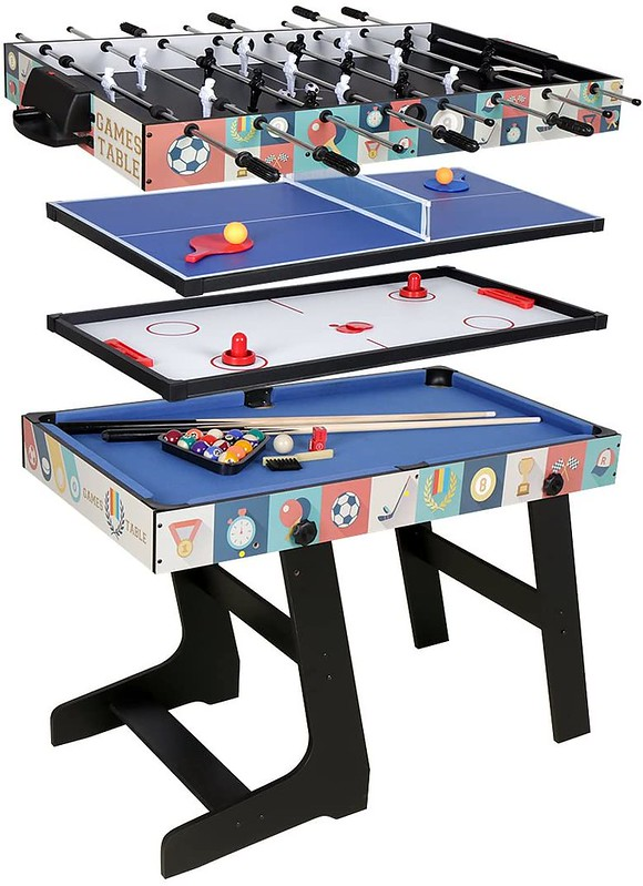 HLC 4 In 1 Multi Sports Game Table.