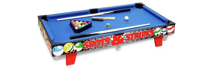 Chad Valley 3ft Table Top Pool Table.