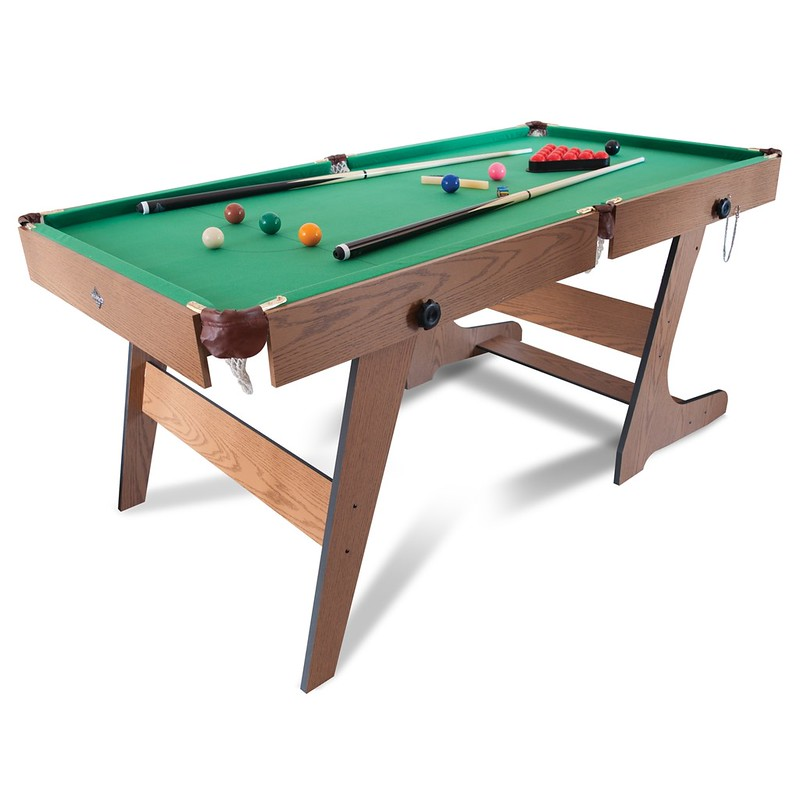 Hy-Pro 6ft Folding Snooker Pool Table.