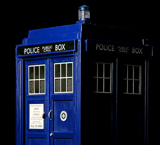 The Tardis from BBC's Doctor Who.