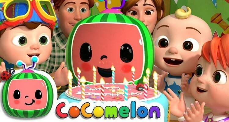CoComelon characters.