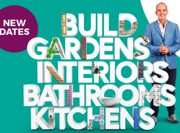 The promotional poster for the Grand Designs Live show.