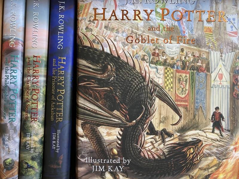 Harry Potter novels.