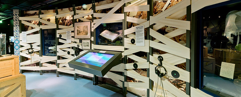Interactive display at the Florence Nightingale Museum.