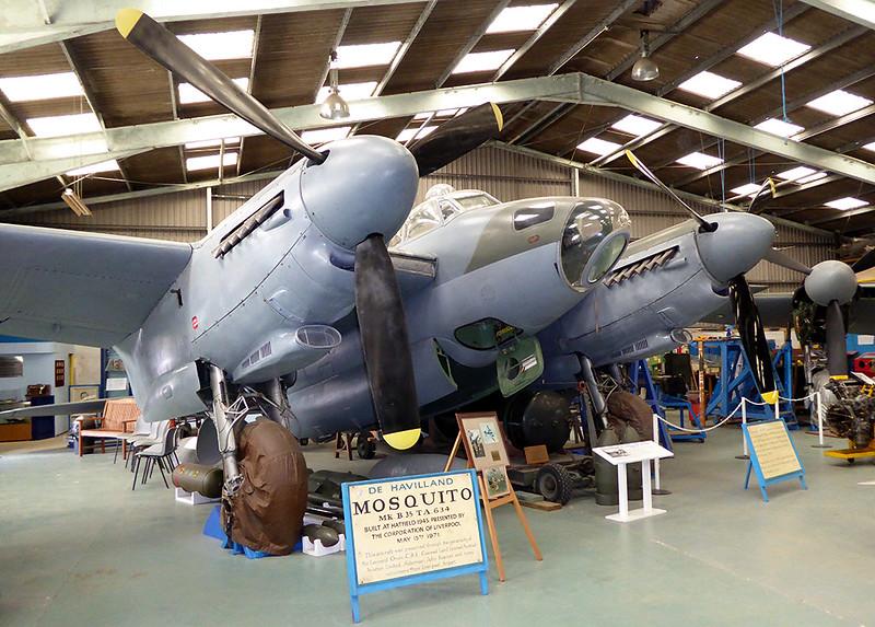 Mosquito plane at De Havilland Musuem.