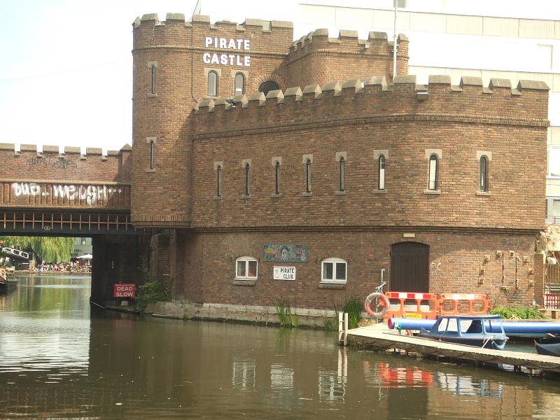 Pirate Castle on the canal in Camden Town.