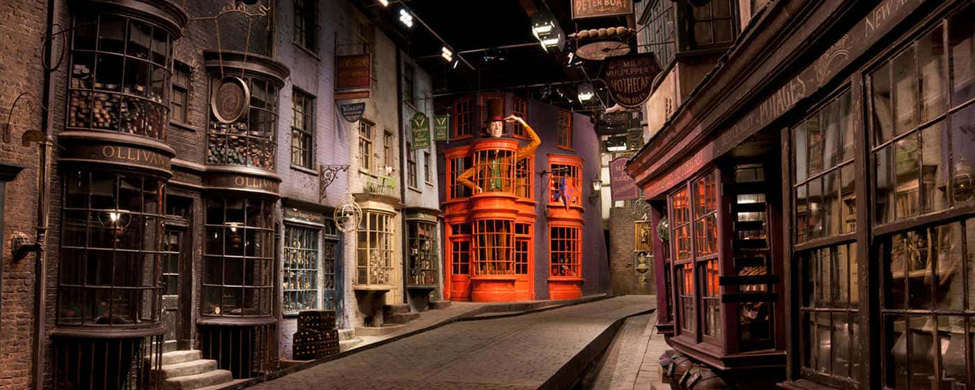 Display at the Harry Potter Studio tour by Warner Bros.