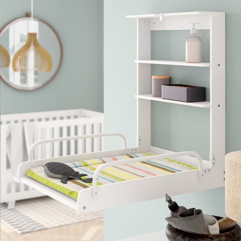 Harriet Bee Pandora Changing Table With Pad.