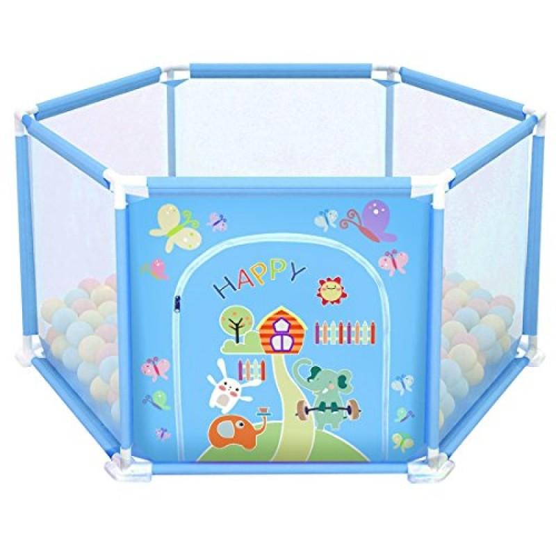 deAO Baby Playpen Set.