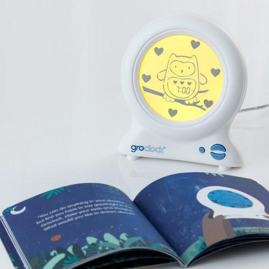 Ollie The Owl Gro Clock.
