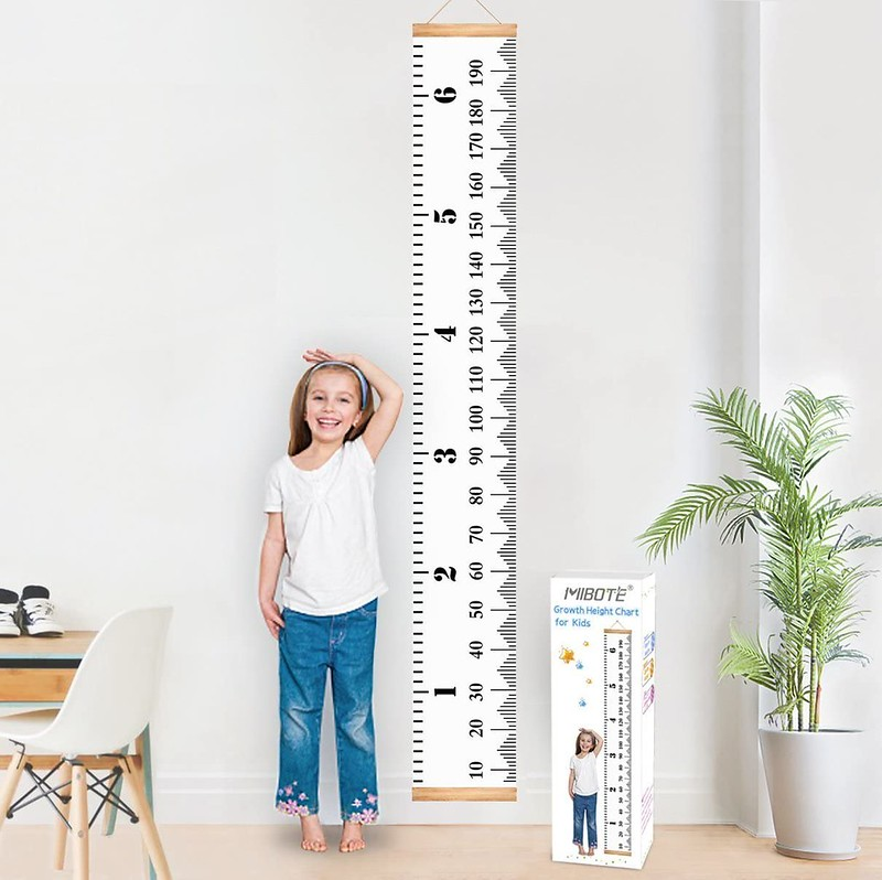 BestMall Baby Growth Chart.