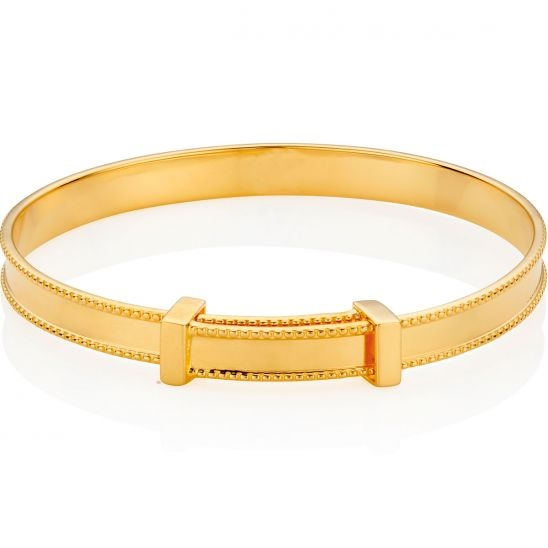 Molly Brown Gold Vermeil Heritage Bangle.
